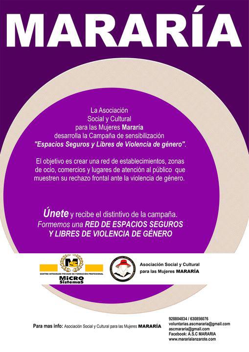 """MICROSISTEMAS se suma a la campaña de Mararía para fomentar los """"Espacios seguros y libres de violencia de género"""""""
